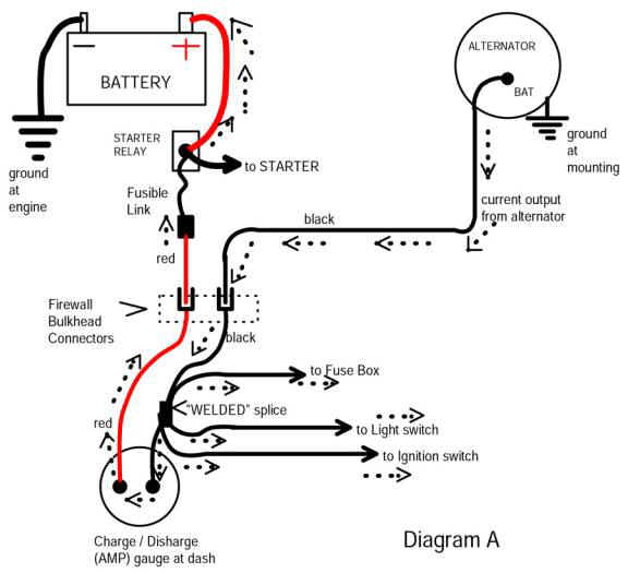 Tech eremeter on mercruiser 4 3 alternator wiring diagram